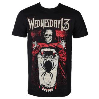 Herren T-Shirt Metal Wednesday 13 - SPIDER SHOVEL - PLASTIC HEAD, PLASTIC HEAD, Wednesday 13