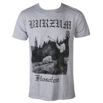 Herren T-Shirt Metal Burzum - FILOSOFEM 3 2018 - PLASTIC HEAD, PLASTIC HEAD, Burzum