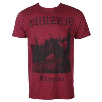 Herren T-Shirt Metal Burzum - FILOSOFEM 3 (KASTANIENBRAUN) - PLASTIC HEAD, PLASTIC HEAD, Burzum