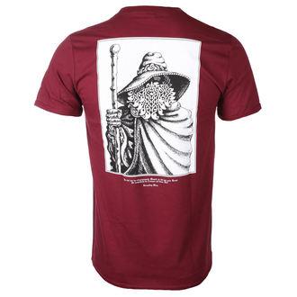 Herren T-Shirt Metal Burzum - RUNE (MAROON) - PLASTIC HEAD, PLASTIC HEAD, Burzum