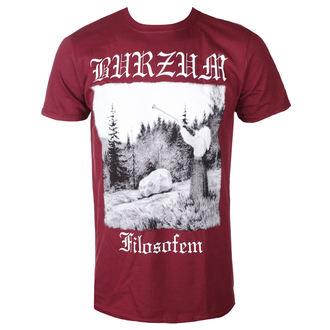 Herren T-Shirt Metal Burzum - FILOSOFEM 2018 (KASTANIENBRAUN) - PLASTIC HEAD, PLASTIC HEAD, Burzum