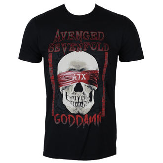 Herren Sweatshirt Avenged Sevenfold - Classic Deathbat - ROCK OFF