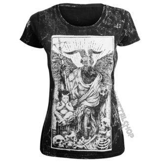 Damen T-Shirt Hardcore - DEVIL - AMENOMEN, AMENOMEN