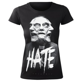 Damen T-Shirt Hardcore - HATE - AMENOMEN, AMENOMEN