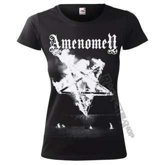 Damen T-Shirt Hardcore - PENTAGRAM BURN - AMENOMEN, AMENOMEN