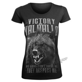 Damen T-Shirt - MEINE GOTTES ... - VICTORY OR VALHALLA, VICTORY OR VALHALLA