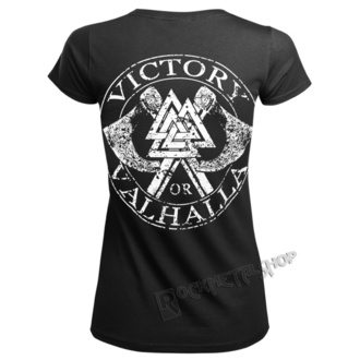 Damen T-Shirt - ODIN - VICTORY OR VALHALLA, VICTORY OR VALHALLA