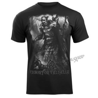 Herren T-Shirt - IN MEMORY OF VIKING - VICTORY OR VALHALLA, VICTORY OR VALHALLA