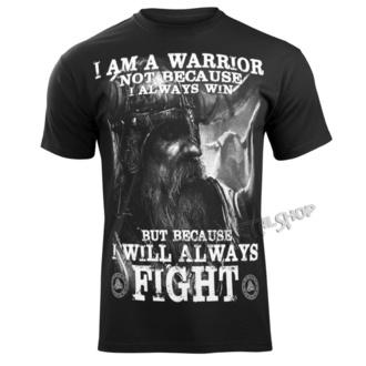 Herren T-Shirt - I AM A WARRIOR - VICTORY OR VALHALLA, VICTORY OR VALHALLA