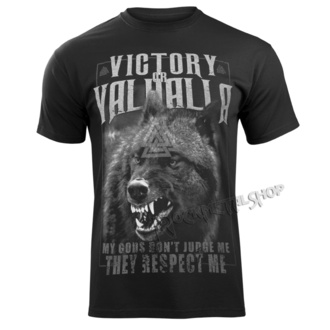 Herren T-Shirt - MEINE GOTTES ... - VICTORY OR VALHALLA, VICTORY OR VALHALLA