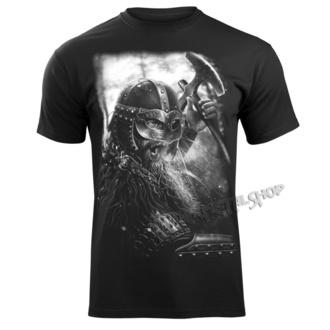 Herren T-Shirt - VIKING WARRIOR - VICTORY OR VALHALLA, VICTORY OR VALHALLA