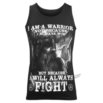 Herren Tanktop VICTORY OR VALHALLA - I AM A WARRIOR, VICTORY OR VALHALLA