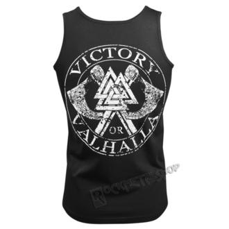 Herren Tanktop VICTORY OR VALHALLA - VIKING SKULL, VICTORY OR VALHALLA