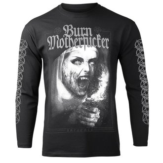 Herren Longsleeve Hardcore - BURN MOTHERFUCKER - AMENOMEN, AMENOMEN