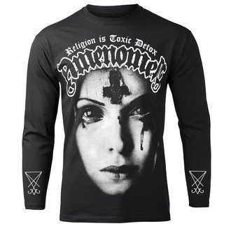 Herren Longsleeve Hardcore - RELIGION IS TOXIC DETOX - AMENOMEN, AMENOMEN