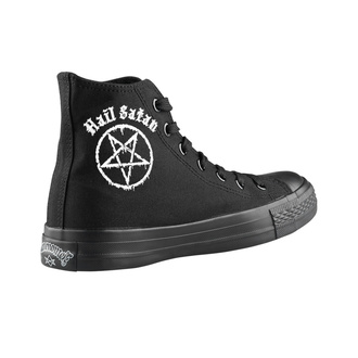 Unisex Low Sneakers - Hail Satan - AMENOMEN