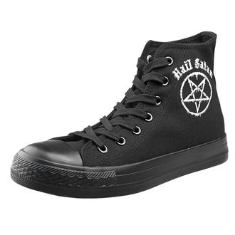 Unisex Low Sneakers - Hail Satan - AMENOMEN