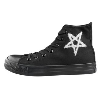 Unisex High Top Sneakers - Pentagram - AMENOMEN