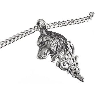 Halskette mit Anhänger Wolf, FALON