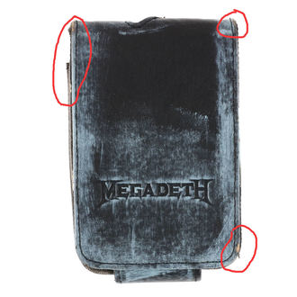 Case Hülle MP3 Megadeth - BIOWORLD - BESCHÄDIGT, BIOWORLD, Megadeth