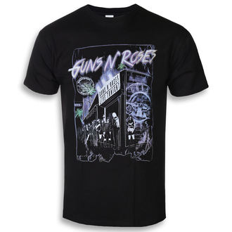 Herren T-Shirt Metal Guns N' Roses - Sunset Boulevard - ROCK OFF, ROCK OFF, Guns N' Roses