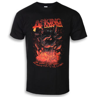 Herren T-Shirt Metal Asking Alexandria - Metal Hand - ROCK OFF, ROCK OFF, Asking Alexandria