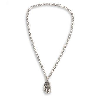 Halskette mit Anhänger Granate, FALON