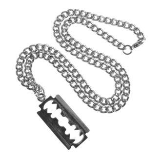 Halskette mit Anhänger Rasierer, FALON