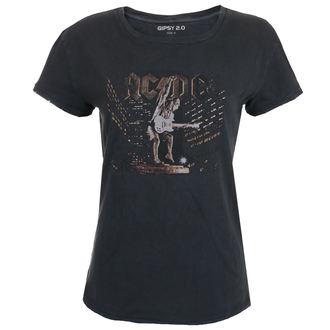 Damen T-Shirt Metal AC-DC - BLACK -, AC-DC
