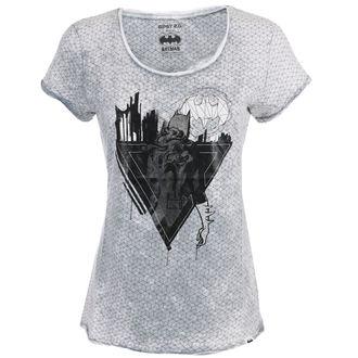 Damen T-Shirt Film Batman - LIGHT GREY -