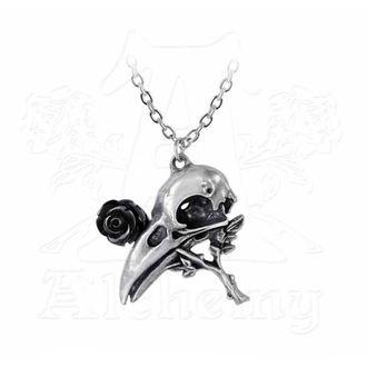 Anhänger Halskette ALCHEMY GOTHIC - Quietus Rose, ALCHEMY GOTHIC