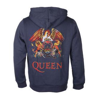 Herren Hoodie Queen - Classic Crest - ROCK OFF, ROCK OFF, Queen