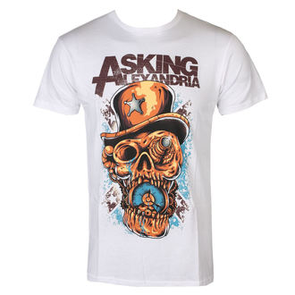 Herren T-Shirt Metal Asking Alexandria - Stop The Time - ROCK OFF, ROCK OFF, Asking Alexandria
