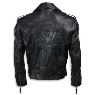 bunda pánská (křivák) Ramones - BLACK, NNM, Ramones