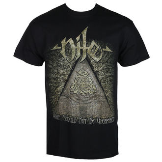 Herren T-Shirt Metal Nile - WHAT SHOULD NOT BE UNEARTHED - RAZAMATAZ, RAZAMATAZ, Nile