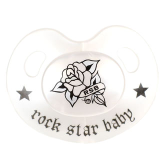 Schnuller ROCK STAR BABY - Rose, ROCK STAR BABY
