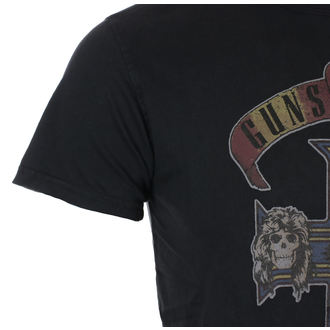 Herren T-Shirt Metal Guns N' Roses - Appetite Cross Vintage - ROCK OFF, ROCK OFF, Guns N' Roses
