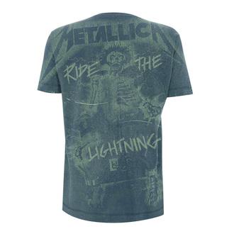 Herren T-Shirt Metal Metallica - Reiten Das Aufhellung A / O -, Metallica