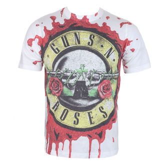 Herren T-Shirt Metal Guns N' Roses - Blood Drip - ROCK OFF, ROCK OFF, Guns N' Roses