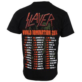 Herren T-Shirt Metal Slayer - SOLDIER CROSS 2014 DATEBACK - ROCK OFF, ROCK OFF, Slayer