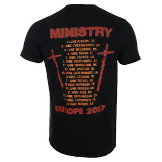 Herren T-Shirt Metal Ministry - Hot Rod - ROCK OFF, ROCK OFF, Ministry