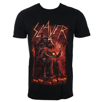 Herren T-Shirt Metal Slayer - Goat Skull - ROCK OFF, ROCK OFF, Slayer