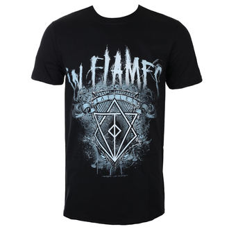 Herren T-Shirt Metal In Flames - Battles Crest - ROCK OFF, ROCK OFF, In Flames