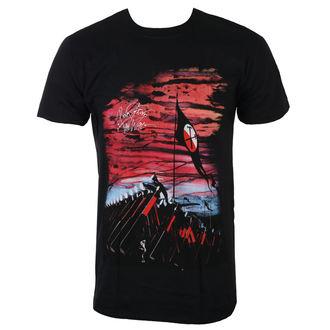 Herren T-Shirt Metal Pink Floyd - The Wall Flag & Hammers - ROCK OFF, ROCK OFF, Pink Floyd