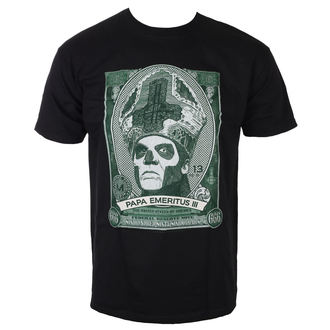 Herren T-Shirt Metal Ghost - Papa Cash - ROCK OFF, ROCK OFF, Ghost