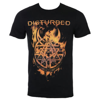 Herren T-Shirt Metal Disturbed - Burning Belief - ROCK OFF, ROCK OFF, Disturbed
