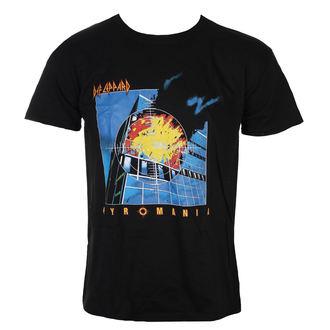 Herren T-Shirt Metal Def Leppard - Pyromania - ROCK OFF, ROCK OFF, Def Leppard
