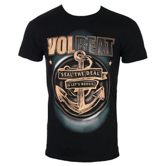 Herren T-Shirt Metal Volbeat - Anchor - ROCK OFF, ROCK OFF, Volbeat