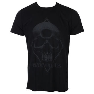 Herren T-Shirt Metal Black Veil Brides - 3rd Eye Skull - ROCK OFF, ROCK OFF, Black Veil Brides