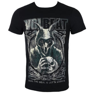 Herren T-Shirt Metal Volbeat - Goat With Skull - ROCK OFF, ROCK OFF, Volbeat
